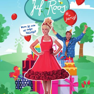 Poster Juf Roos J&M Brands