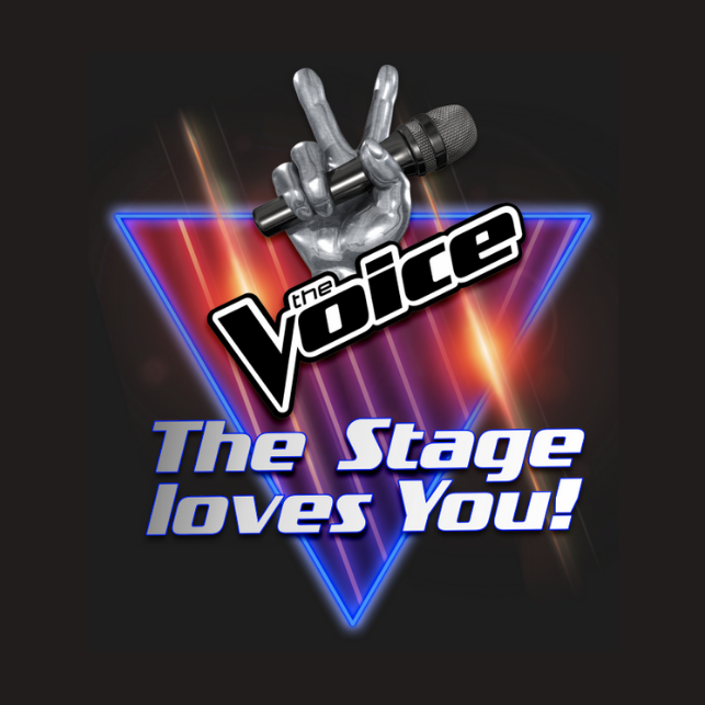 The Voice- Logo- Stage - JMBrands- Licensing